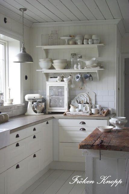 1000 Ideas About White Farmhouse Kitchens On Pinterest Industrial Farmhouse Kitchen, Farmhouse Kitchens And photo - 1