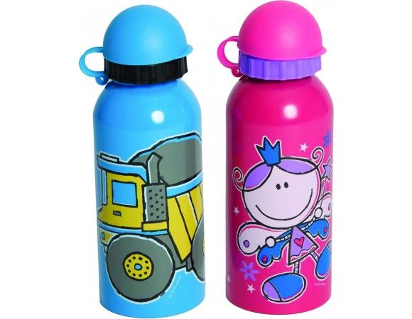 Pumped® Stainless Steel Drink Bottle, 450 ml Two sizes of stainless steel drink bottles are available – 750 ml and 450 ml – in a variety of colours. They are produced from heavy-duty stainless steel for durability.
