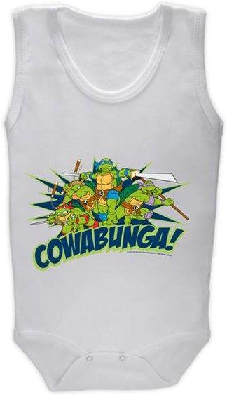 Ninja Kaplumbağalar - Cowabunga Kendin Tasarla - Bebek Zıbın