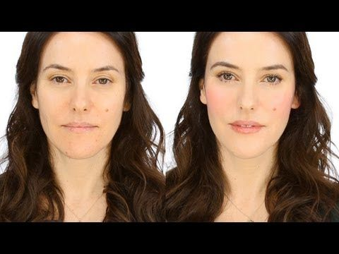 Lisa Eldridge - Minimal Make-up - Rosy Flush. For more tips and a list of products visit my website here http://www.lisaeldridge.com/video/22118/minimal-product-make-up-pink-flush/ #Makeup #Beauty #Tutorial