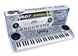 Brandstand Electronic Keyboard 54 Key Musical Piano With Microphone Model 5407by Jinjaing Shengle Toys Co. Ltd.814% Sales Rank in Toys & Games: 375 (was 3431 yesterday)(62)Buy: Rs. 1697.004 used & new from Rs. 1697.00 (Visit the Movers & Shakers in Toys & Games list for authoritative information on this product's current rank.)