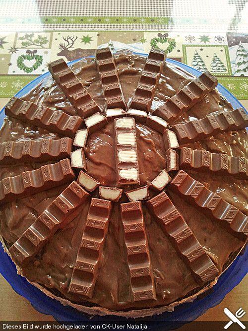 Kinderschokolade-Torte, ein leckeres Rezept aus der Kategorie Backen. Bewertungen: 6. Durchschnitt: Ø 4,1.
