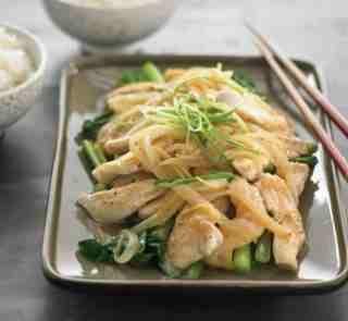 Lemon chicken Serves: 4 Time to make:  20 mins