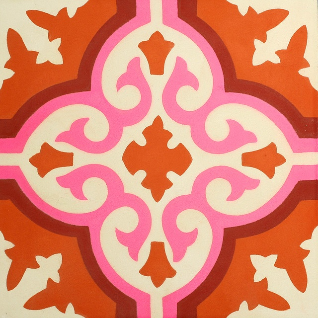 moroccan tile - color inspiration Handmade tiles can be colour coordinated and customized re. shape, texture, pattern, etc. by ceramic design studios