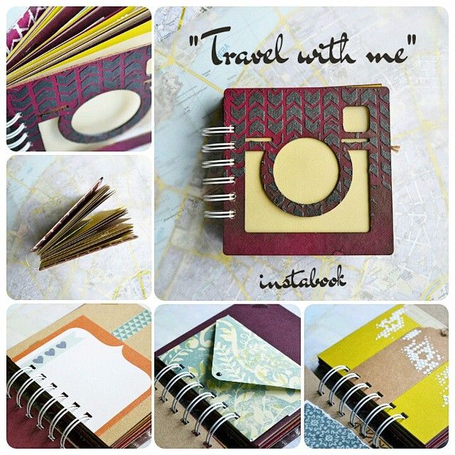 "Mini Instabook ""Travel with me"""