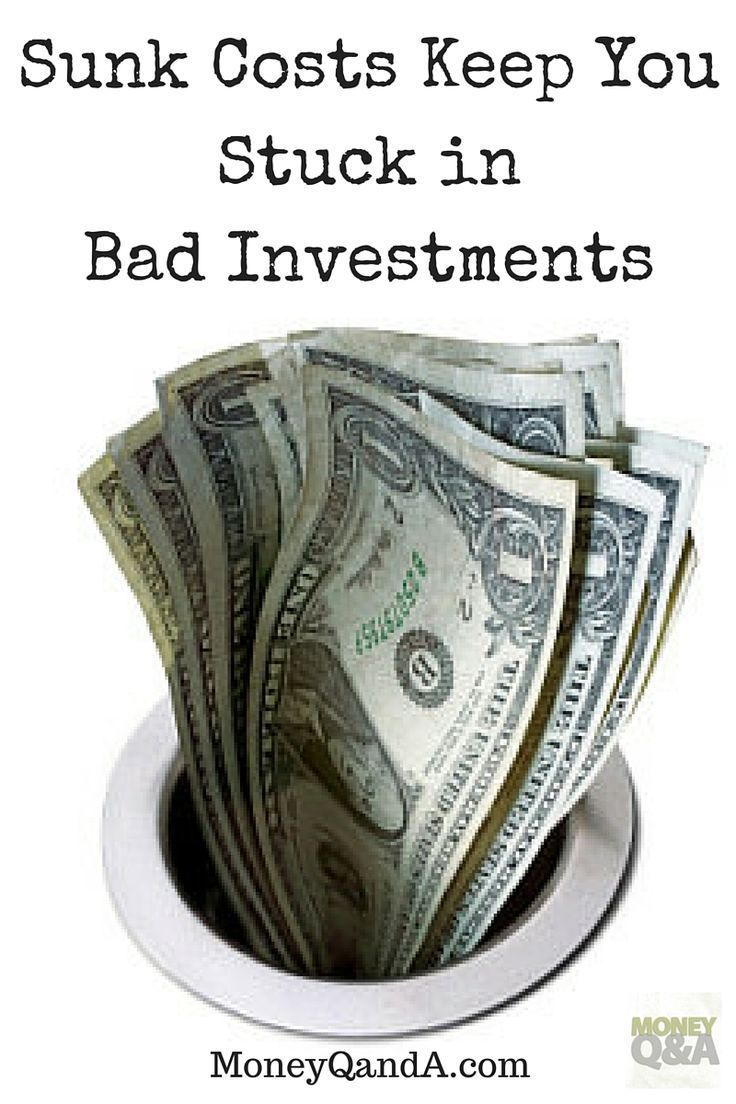 """How Sunk Costs Keep You Stuck in Bad Investments - But when it comes to to sunk costs, our instinctive opposition to """"wasting money"""" we've already lost can hurt us in many ways. In investing specifically, it can make you hold on longer than you should, and cost you even more."""