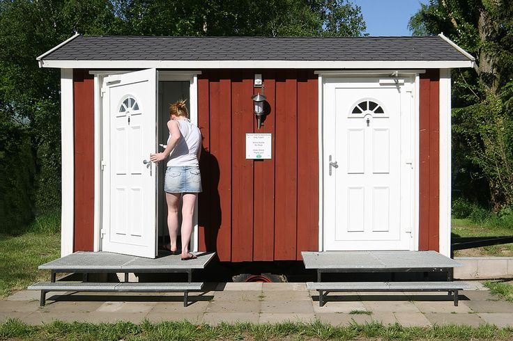 8 besten gartentoilette bilder auf pinterest saunen bauwagen und kleine h user. Black Bedroom Furniture Sets. Home Design Ideas