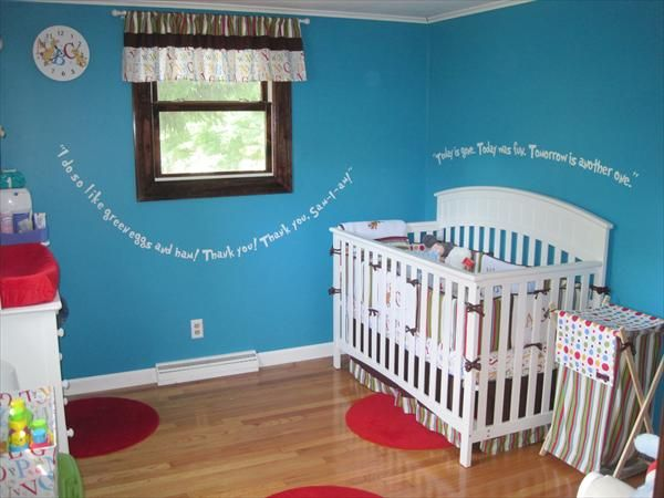 Very Simple Dr Seuss Room