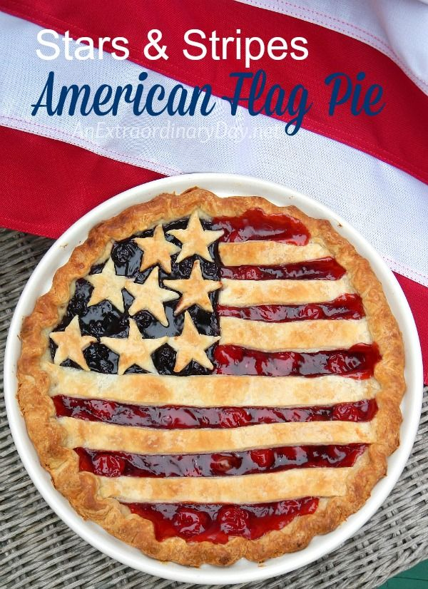 This easy to make American Flag Pie recipe will be a hit at your next 4th of July or patriotic event.  Pin now to remember for later.  It's soo good!