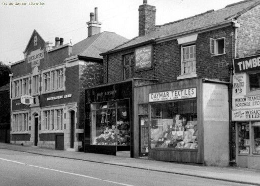 Moston Lane, The Bricklayers Arms. 1968.