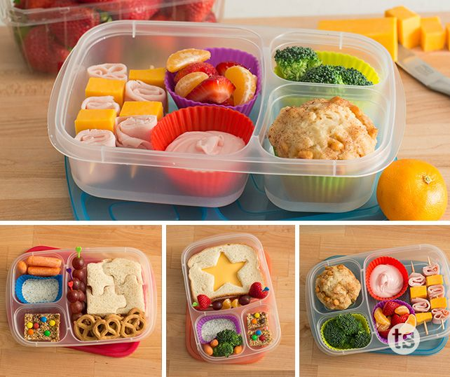 Quick and easy ideas to take your kids' lunches from boring to exciting. {tastefully simple}