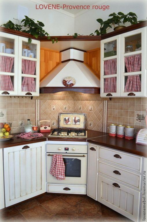 """Купить Кухня в стиле """"Прованс"""" из массива сосны - кухня Прованс, кухонная мебель"""