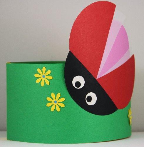 Verjaardagsmuts.nl|Handgemaakte persoonlijke verjaardagsmutsen - Buiten - Lieveheersbeestje