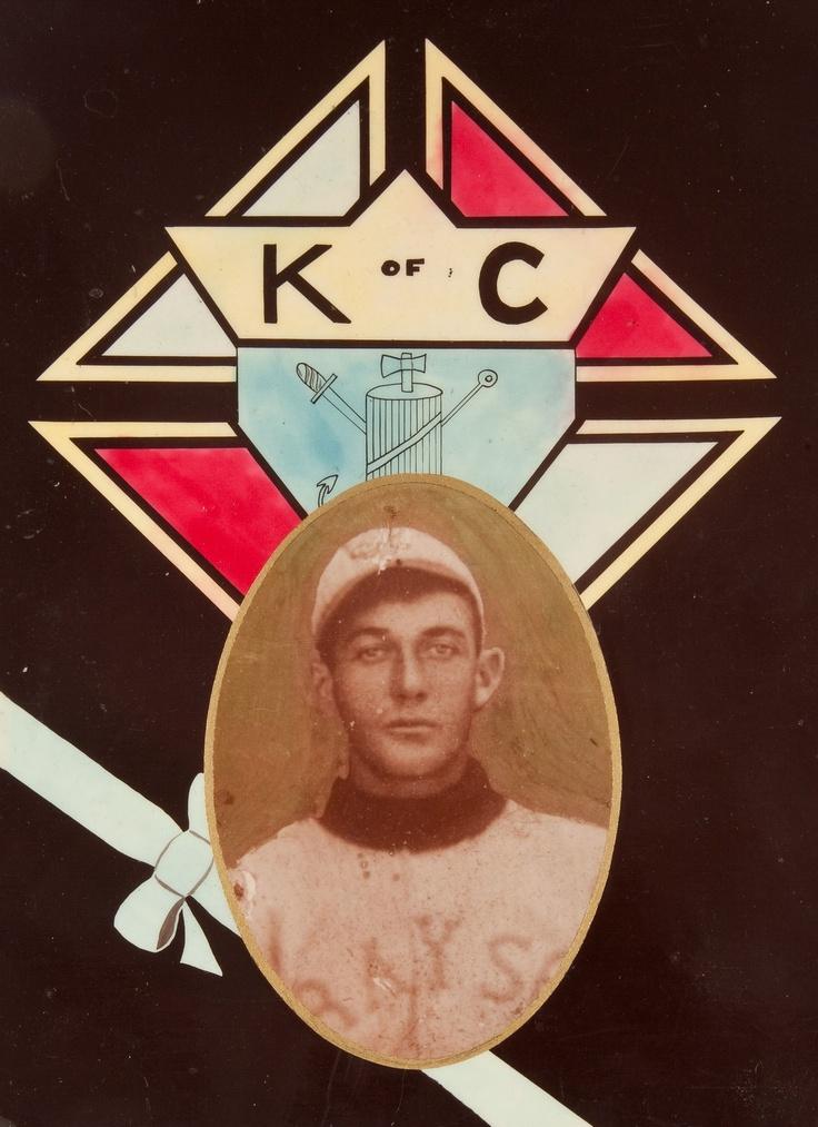 Early 1900's Knights of Columbus Baseball Memento