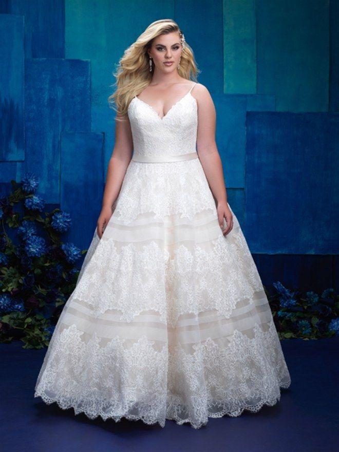 31 best Brautkleider für Mollige // Kurvig heiraten images on ...