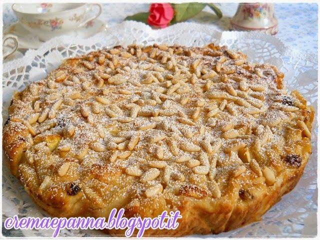 crema e panna: Torta di pane e mele al profumo di Marsala