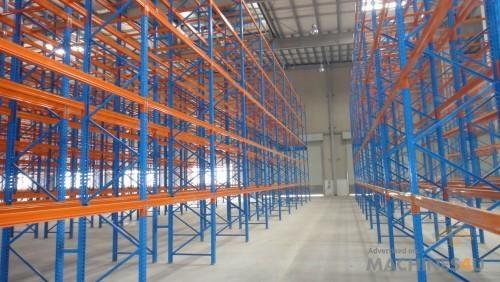 Blue Diamond Pallet Racking Bay 3M High X 2.8M Wide Dexion - http://www.machines4u.com.au/browse/Material-Handling/Racking-Shelving-Storage-322/Racking-1473/