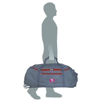NFL San Francisco 49ers 36 Collapsible Duffle Bag