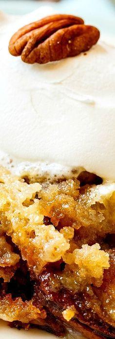 Pecan Pie Cake via @FMSCLiving