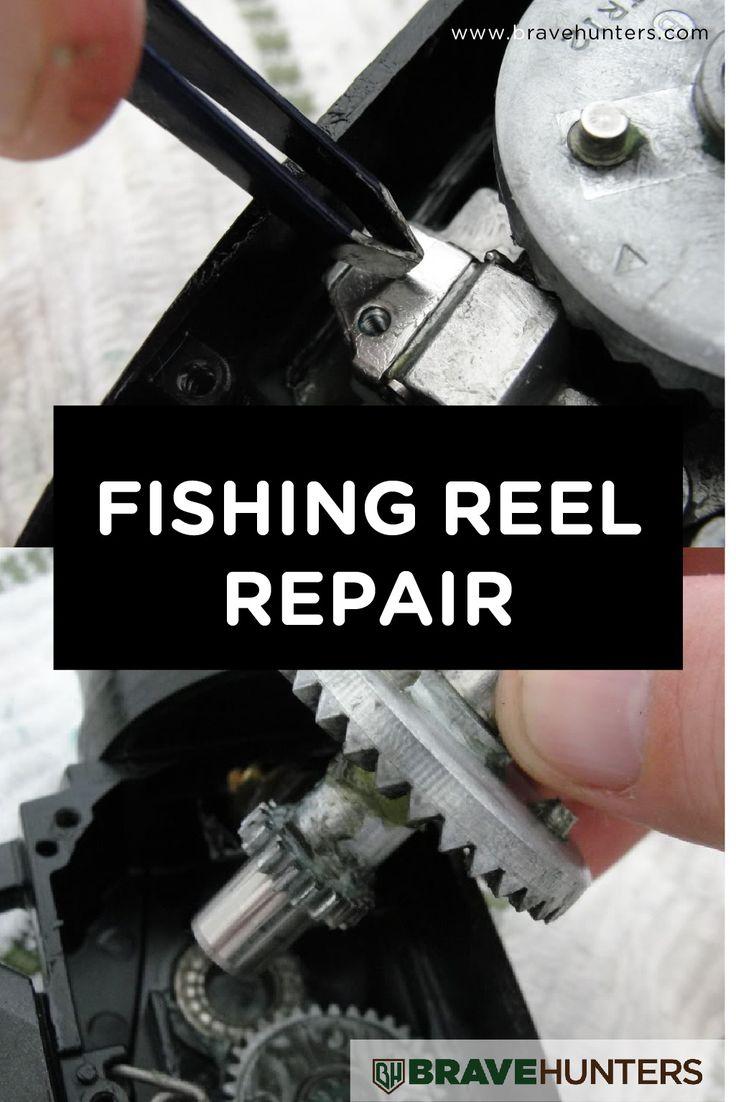 Best 25 fishing reels ideas on pinterest fishing 5 for Fishing pole repair