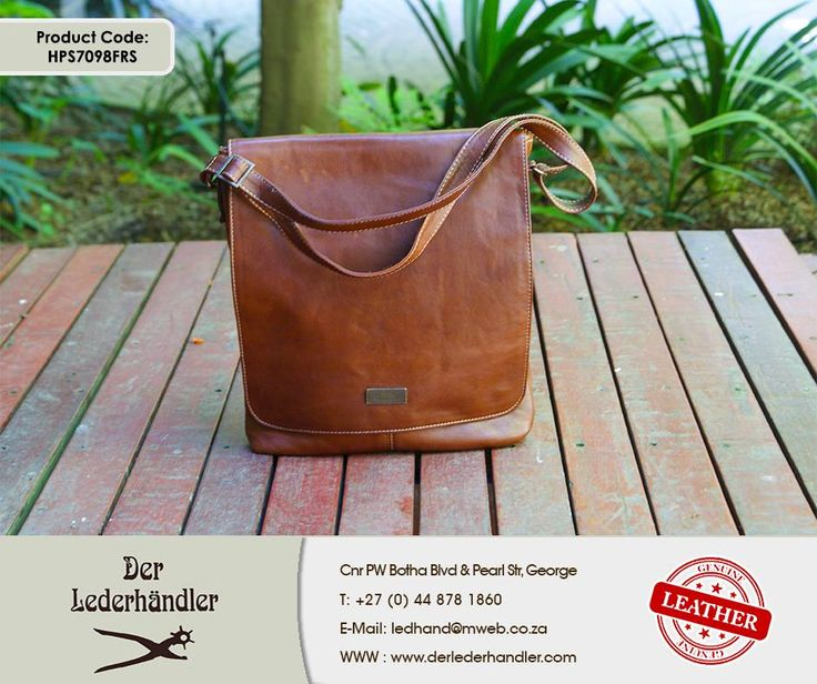 Need a sturdy and stylish bag to carry your books, files and documents in? Then you need this beautiful genuine leather bag with flap available in any #DerLederhandler factory shop. For more information, enquire now at http://anapp.link/5v3 (Desktop) or http://anapp.link/5v4 (Mobile) or visit our website: http://asite.link/5we. #genuineleather