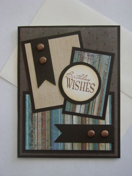 211 best birthday cards for men images on pinterest birthdays this would be a great masculine card rustic birthday by hejanderson cards and paper crafts at splitcoaststampers bookmarktalkfo Gallery