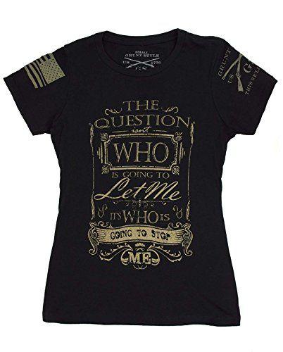 Grunt Style Stop Me Ladies T-Shirt (Small) Grunt Style https://www.amazon.com/dp/B01A7J6CK0/ref=cm_sw_r_pi_dp_x_rIwzyb0HBT9DX