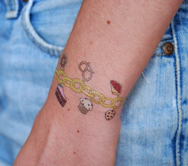 charm bracelets tattoos with names eokc