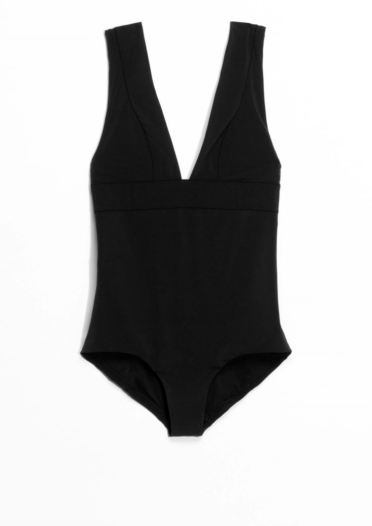 & Other Stories | V-Neck Swimsuit.