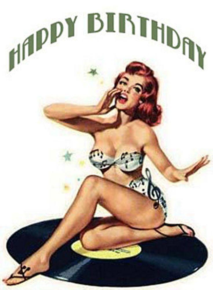 Happy Birthday - sexy pin up