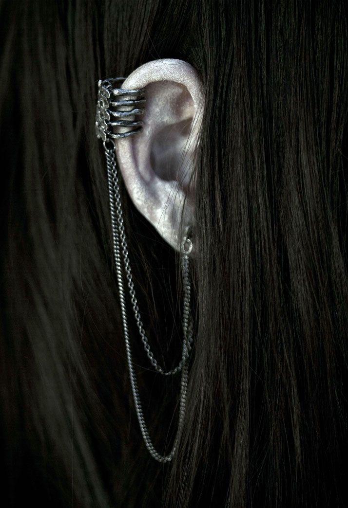 vertebral ear cuff - bjørg jewellery, 2011