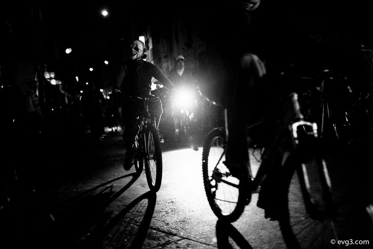 Monsters night ride. Night of the Dead / Day of The Dead, Mexico City Series - Paseo Nocturno Noche de Muertos. By Abelardo Ojeda #StreetPhotography #Mexico #MexicoCity #BlackandWhite #Halloween #syncretism #sincretismo
