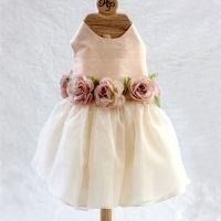 Dog Wedding Flower Girl Dress