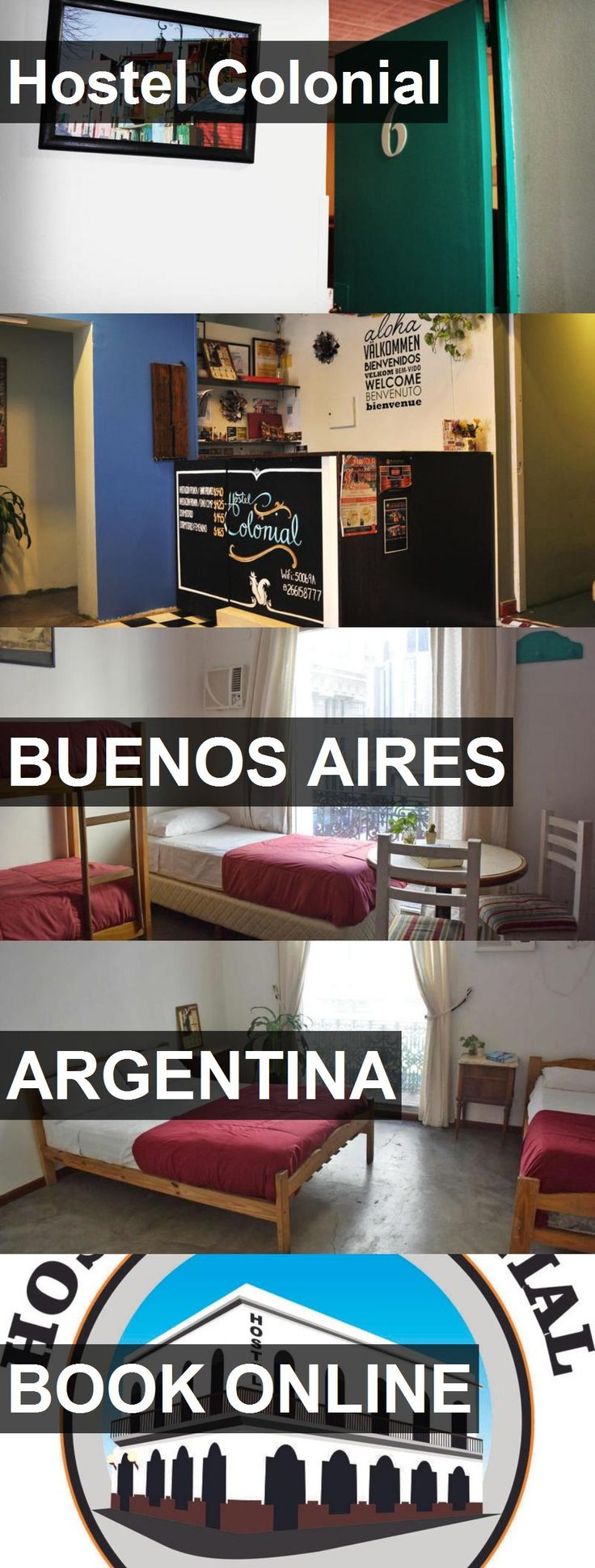 Hostel Colonial in Buenos Aires, Argentina. For more information, photos, reviews and best prices please follow the link. #Argentina #BuenosAires #travel #vacation #hostel