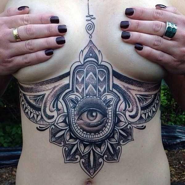 Hamsa – Die Hand der Fatima – Tattoo Spirit                                                                                                                                                     Mehr
