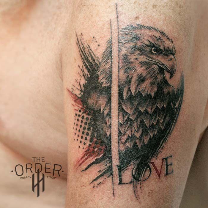 Eagle Love Trash Polka