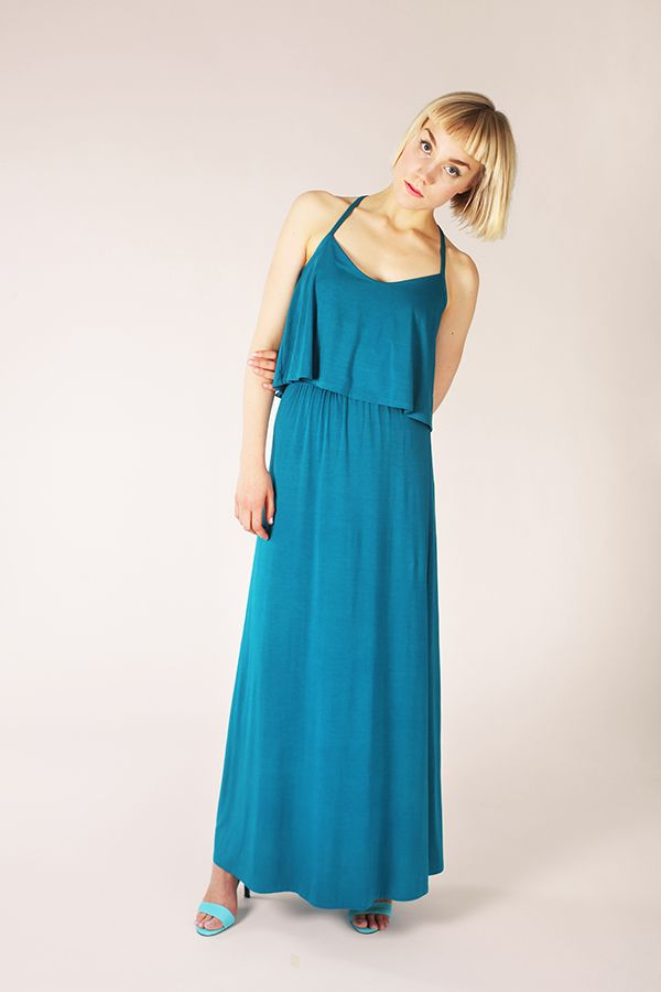 Delphi Layered Maxi Dress - Named