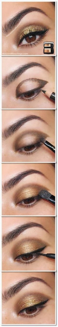 A Dramatic Smoky Eye Tutorial! http://www.styledecordeals.com/2014/01/a-dramatic-smoky-eye-tutorial.html