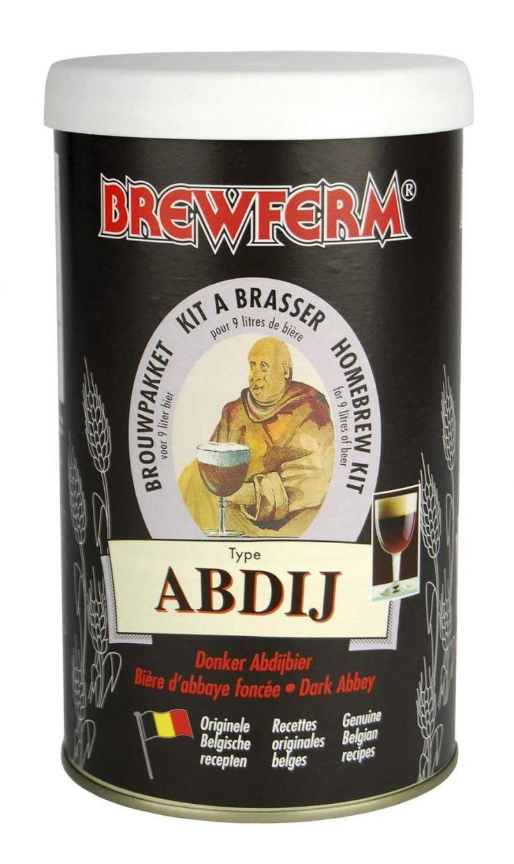 Brewferm Abbey bira kiti Belçika Manastır biralarının bir örneği olarak hazırlanmıştır. Manastır Birası-Abbey (Ya da Hollandaca ve Felemenkçedeki adı olan Abdij)- Belçika Trappist türlerindendir. Koyu kahve renkli,yoğun malt rayihalı, kalın gövdeli, kremamsı kalıcı köpüklü, leziz ve olgunlaşma süresi sonunda ayrıcalıklı bir tattır. Bu lezzetli birayı kendi mutfağınızda en uygun fiyatlarla yapabilirsiniz.  Başlangıç yoğunluğu (OG): 1.070 Alkol oranı : %8 #beer #brewferm #bira #abbey