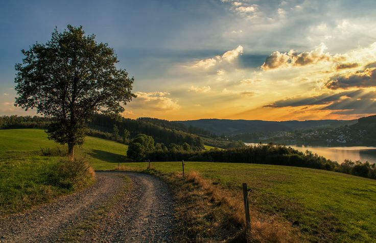 sunset near Attendorn / Germany | by MSR-Photoarts