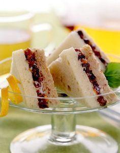 Sweet Tea Sandwiches: Recipe