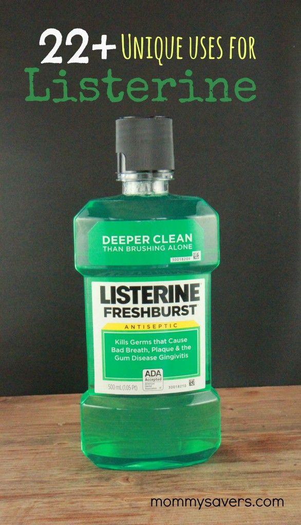 1000 ideas about listerine mouthwash on pinterest mouthwash dispenser bathroom organization - Unusual uses for mouthwash ...