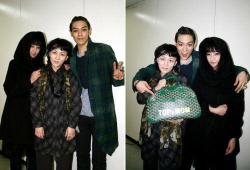 BIGBANG's T.O.P & family.