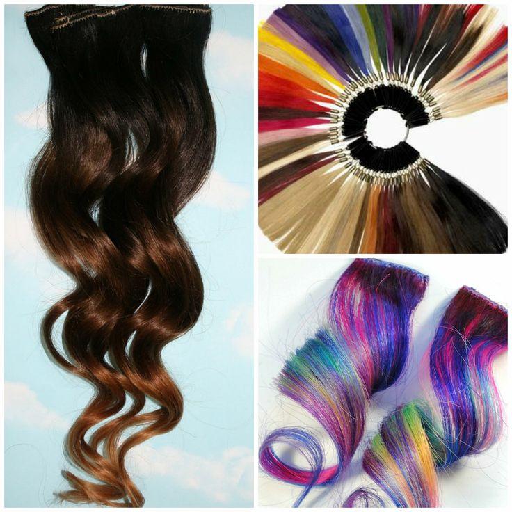 come prendersi cura delle extension clip in di capelli veri