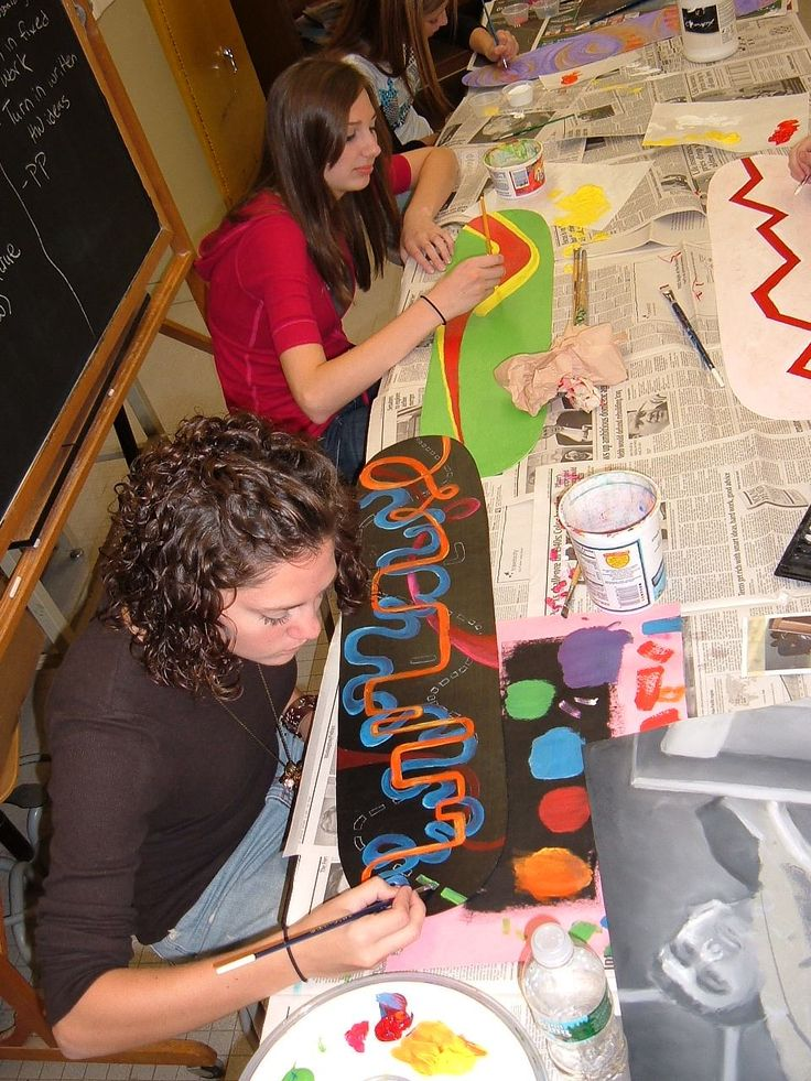 High School Art Projects | High School Lesson Plan: Designing a Skateboard Deck Graphics