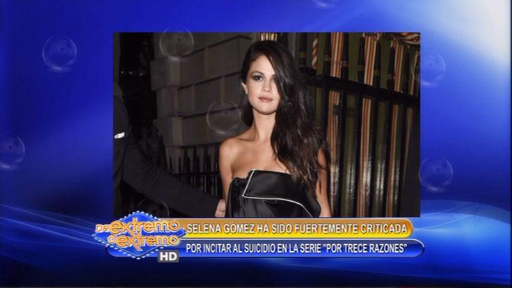 Critican A Selena Gómez Por Incitar Suicidio A Joven