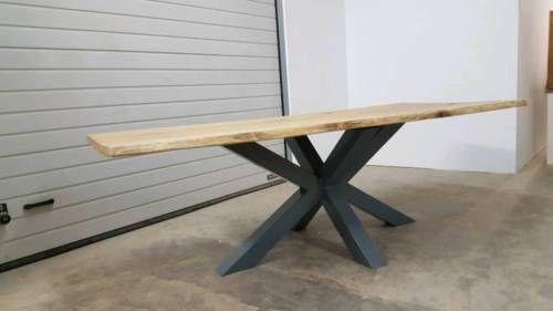 Naturholz Eiche/ Tischplatten nach Maß / Holzstärke 4-10cm erhältlich / geleimt als auch...,Massivholztische auf Maß Esstisch Tisch Baumtisch HOLZ METALL in Hessen - Maintal