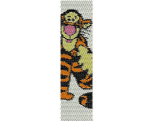 Tigger Winnie the Pooh PEYOTE PATTERN by Lorelaishop on Etsy,