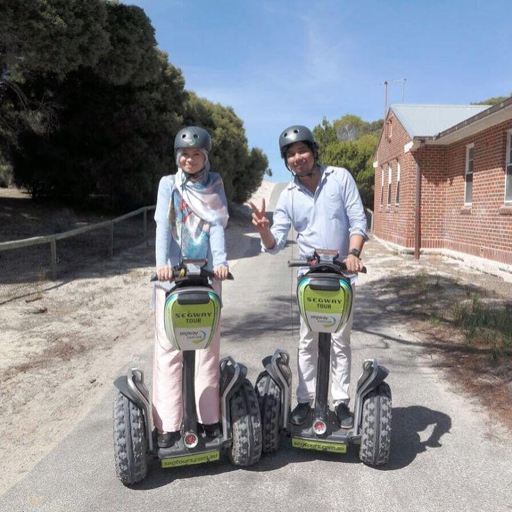 Our first time on a Segway and it's really awesome!!! @kneok Thanks for the photo @karenkh0 !  #rnadiaTRAVELS #akarnsLOVE #rottnestisland   #SeeAustralia #ThisIsWA #WesternAustralia #perth #Australia #AirAsiaX #segway #segwaytour #bloggeratti #wearaere by rnadiasabrina http://ift.tt/1L5GqLp