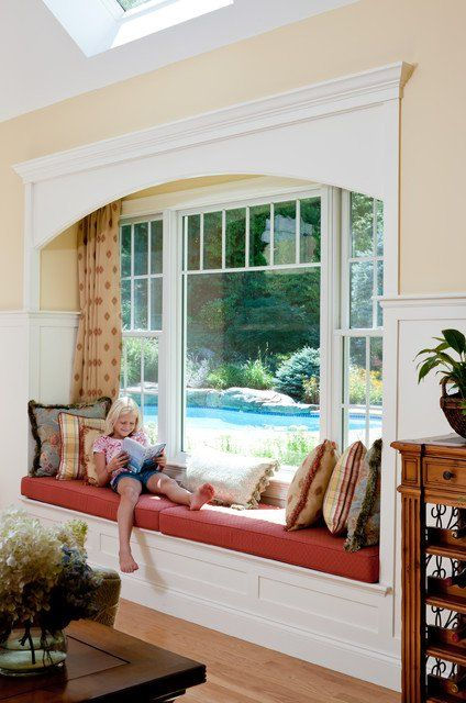 Beautiful Depth Of Window Seat
